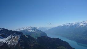 Сценарный кантон Grisons, Швейцарии Стоковое Изображение RF