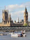 Сценарный Лондон, большое Бен стоковые изображения rf