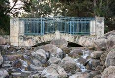 Сценарный мост в парке господина Джеймс McCusker Стоковое фото RF