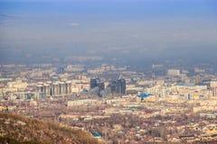 Сцена Алма-Аты стоковые изображения