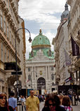 Сцена в вене, Австрии Стоковая Фотография