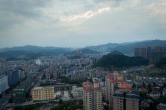 Сцена города Villege guiyang, фарфора 8 стоковые фото