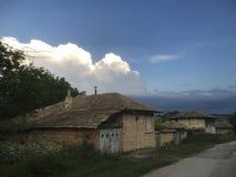 Сцена деревни Восточной Европы Стоковое Изображение RF
