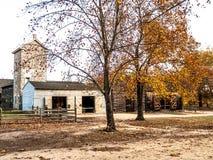 Сцена деревни Batsto стоковые изображения rf