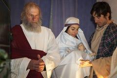 Сцена жизни Иисуса Представление Иисуса в виске стоковое изображение rf