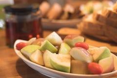 Сцена завтрака Стоковые Фото