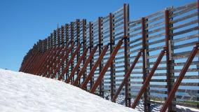 Сцена зимы Альпов швейцарца Стоковые Изображения RF
