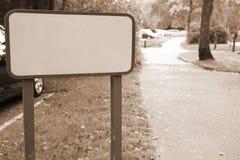 Сцена знака улицы Стоковая Фотография RF