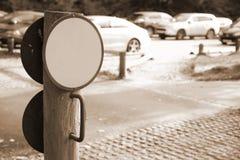 Сцена знака улицы Стоковые Фото