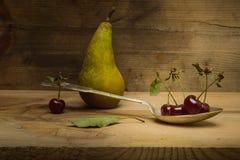 Сцена конспекта вишни натюрморта Стоковое фото RF