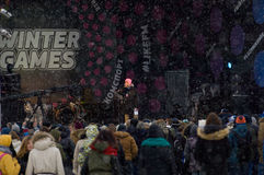 Сцена концерта Стоковое Фото