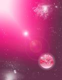Сцена космоса Стоковые Изображения RF