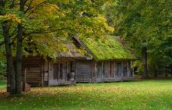 Сцена Литва старого загородного дома сельская Стоковая Фотография RF