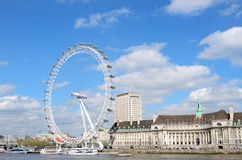 Сцена Лондона Стоковое Изображение