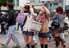 Сцена на Shibuya Стоковые Фото