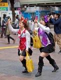 Сцена на Shibuya Стоковые Изображения RF