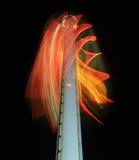 Сцена ночи башни взгляда Стоковое Изображение RF