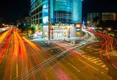 Сцена ночи Taichung Стоковые Изображения RF