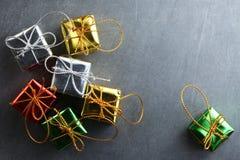 Сцена орнамента украшения рождества Стоковые Изображения