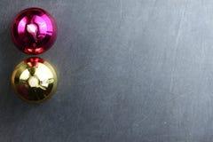 Сцена орнамента украшения рождества Стоковые Изображения RF