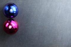 Сцена орнамента украшения рождества Стоковое фото RF