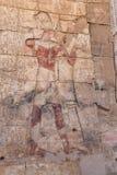 Сцена от виска Abydos в Madfuna, Египте стоковое изображение rf