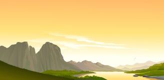 Сцена от гранд-каньона Стоковые Фото