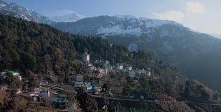Сцена от ложи горы стоковые изображения