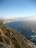 Сцена от побережья Калифорнии с келпом Стоковые Изображения
