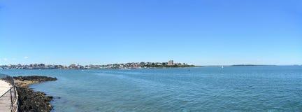 Сцена Портленда панорамная стоковые изображения rf