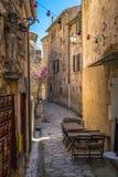 Сцена Провансаль южная Франция улицы стоковое изображение rf
