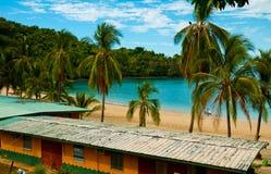 Сцена пляжа в Панаме Стоковое Изображение