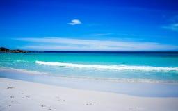 Сцена пляжа стоковое изображение rf