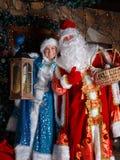 Сцена рождества в русском стиле Стоковое фото RF