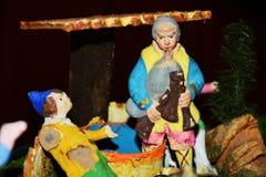 Сцена рождества, красочные детали Стоковые Фотографии RF