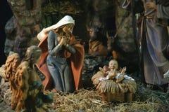 Сцена рождества, церковь посещения, Ein Karem Стоковое фото RF