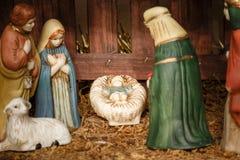 Сцена рождества Стоковое Фото