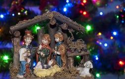 Сцена рождества стоковое изображение