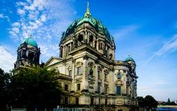 Сцена собора Берлина в Германии Стоковые Фото