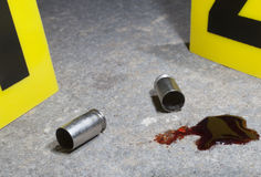 Сцена стрельбы Стоковые Фото