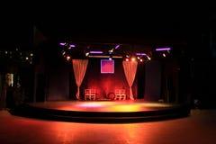 Сцена театра стоковое фото rf