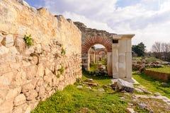 Сцена театра Philippi стоковые изображения