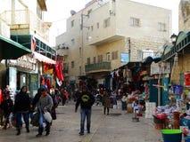 Сцена улицы Вифлеема, Палестины Израиля стоковые фотографии rf