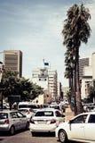Сцена улицы в Кейптауне стоковое фото