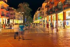 Сцена улицы в Kemer стоковая фотография