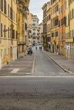 Сцена улицы города Рима городская Стоковые Изображения