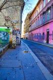 Сцена улицы в Будапеште Стоковая Фотография