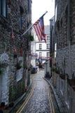 Сцена улицы в Плимуте Стоковые Фото