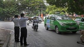 Сцена улицы в Ханое Вьетнаме 2015 Стоковая Фотография RF
