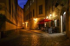 Сцена улицы в чехии Праги Стоковая Фотография